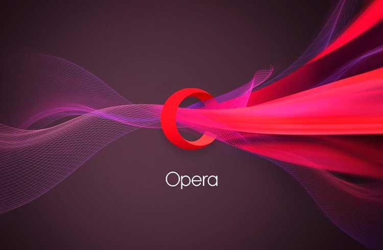 Navegador Opera adiciona acesso a domínios .Crypto