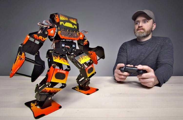 """Robô para """"girar"""" nas plataformas do GBB é criado"""