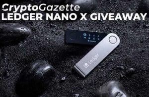 A Crypto Gazette traz um sorteio de 10 Ledger Nano X para seus leitores