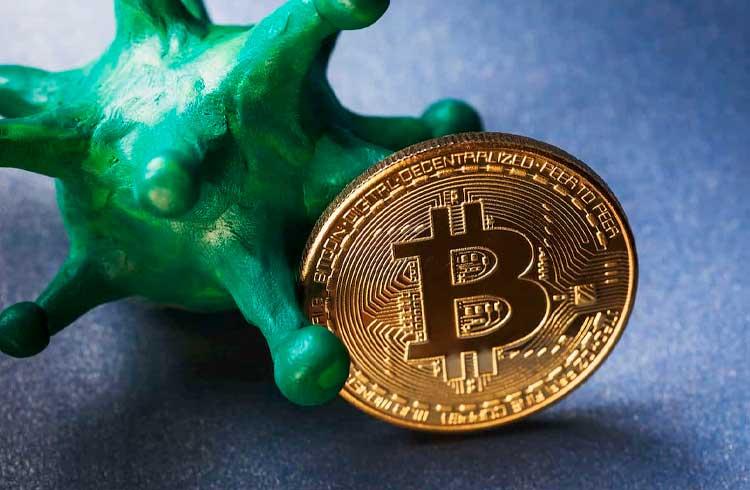 Estudo constata que surto de coronavírus foi bom para o Bitcoin