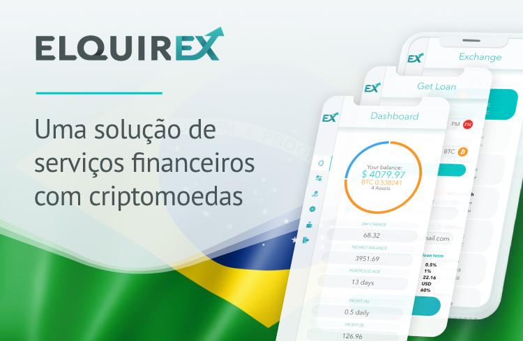 Exchange Elquirex oferece empréstimos e carteira com diferencial