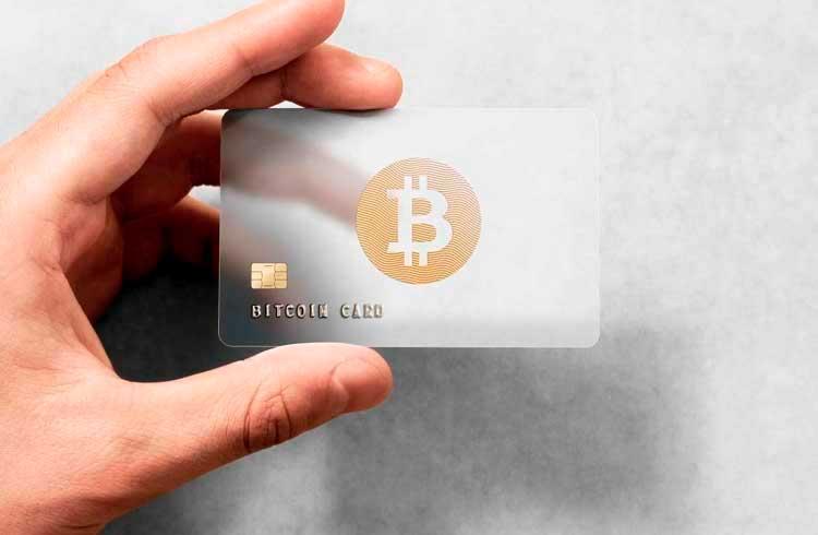Mastercard impulsiona cartões carregados com criptomoedas