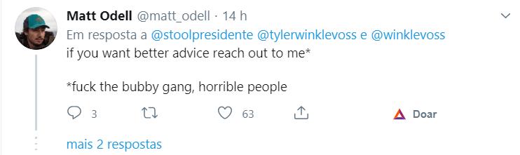 Matt Odell sobre a conversa