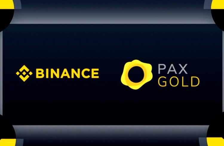 Binance lista stablecoin lastreada em ouro