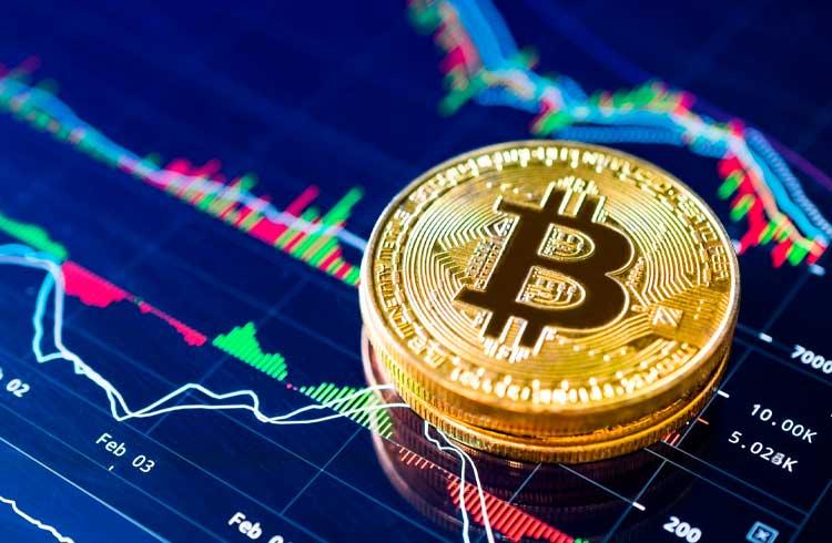 Bitcoin declina enquanto mercado tradicional opera em alta