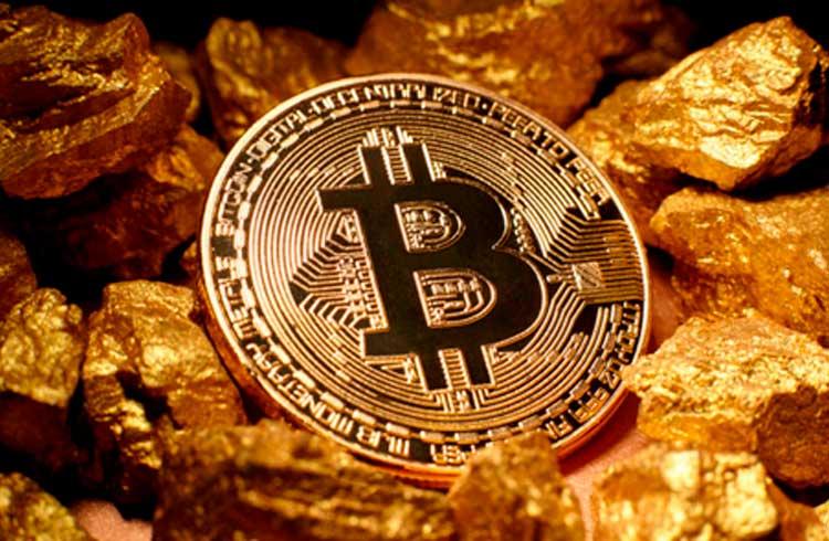 Bitcoin pode se beneficiar com alta histórica do ouro