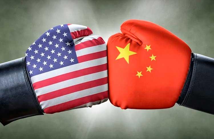 Criptomoedas serão determinantes na guerra comercial entre EUA e China