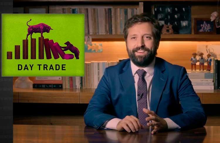 Gregorio Duvivier destaca riscos do day trade em programa de humor