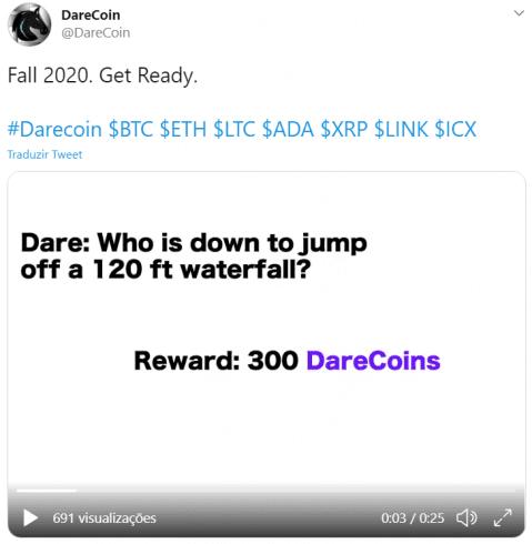 Desafio do Darecoin