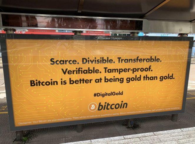 Propaganda do Bitcoin