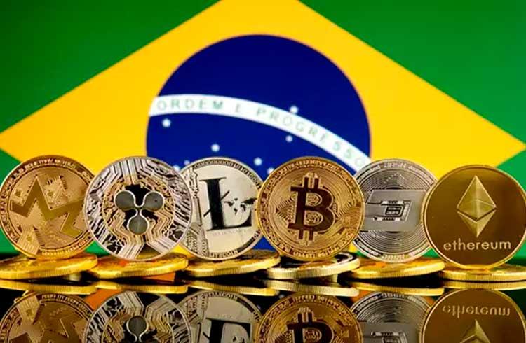Brasil é o segundo país que mais usa criptomoedas no mundo