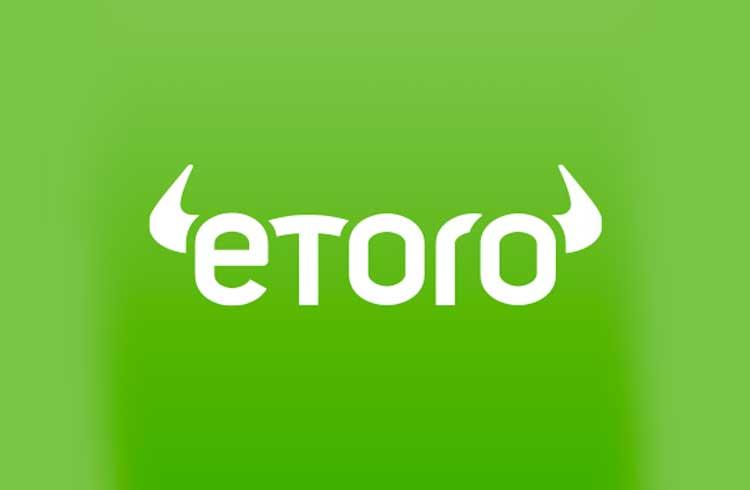 Carteira da eToro dá criptomoedas aos usuários todos os dias