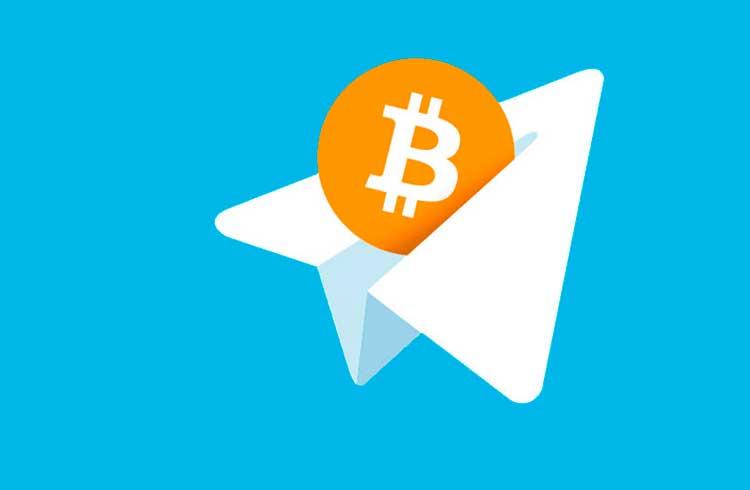 Pagamentos em Bitcoin podem ser feitos pelo Telegram