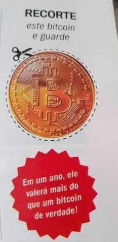 """""""Previsão"""" da Veja sobre preço do Bitcoin"""