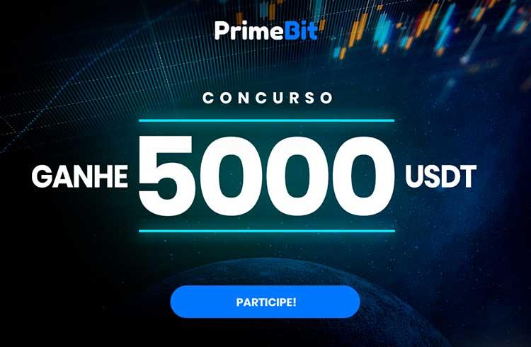 Ganhe 5000 USDT negociando fundos de demonstração com a PrimeBit!