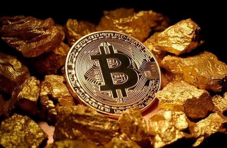Ouro perde para Bitcoin em rendimento mesmo em seu melhor ano