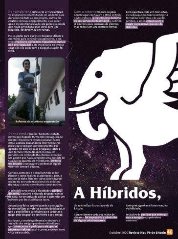 Ligação entre Hélio e Híbridos