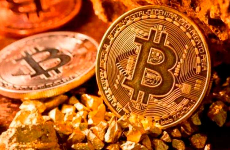 Bitcoin registra ganhos enquanto ouro segue sem valorizar