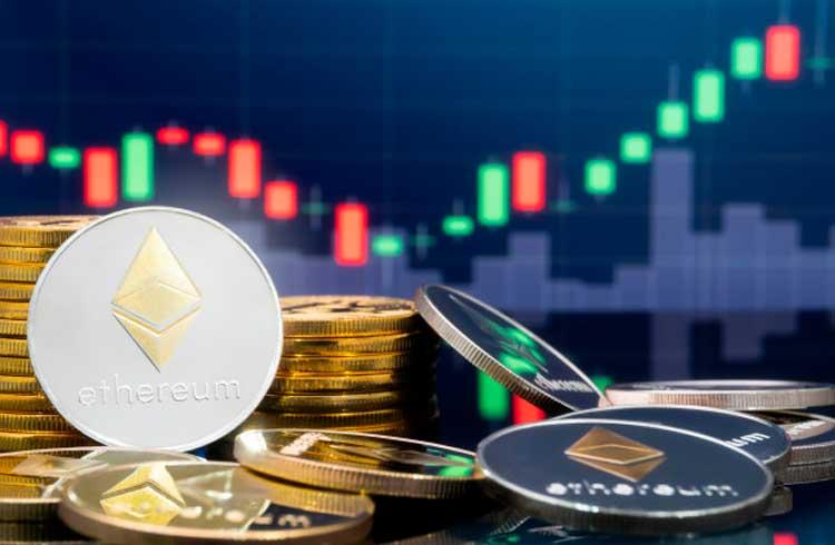 Ethereum pode cair até os R$ 2.300, indica o gráfico