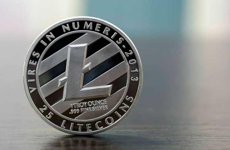 Litecoin dispara 12% e próxima parada é em R$ 400