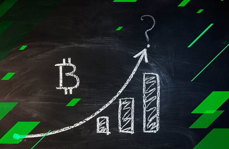 Bitcoin faz maior fechamento mensal de sua história