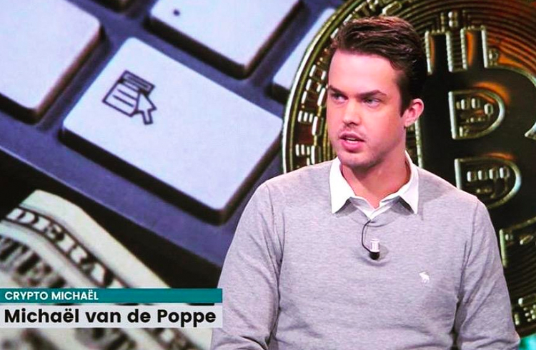 Michaël van de Poppe analisa a rápida queda do XRP