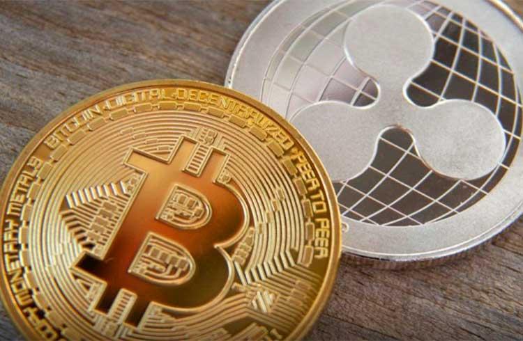 XRP cai 9% enquanto Bitcoin volta aos R$ 117.000