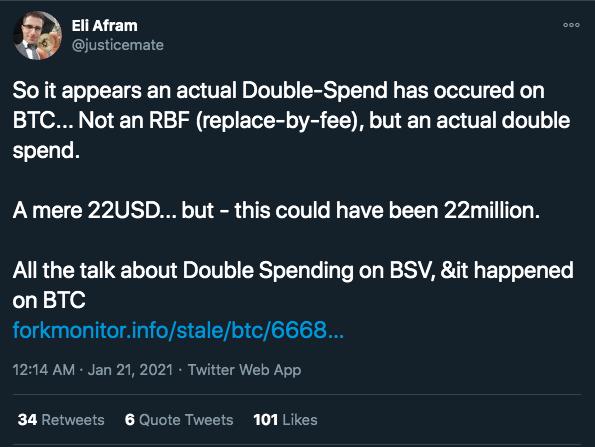 Usuário demostra preocupação com gasto-duplo