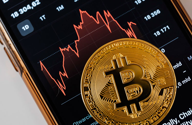 Bitcoin segue em queda e acumula 18% negativos em 7 dias
