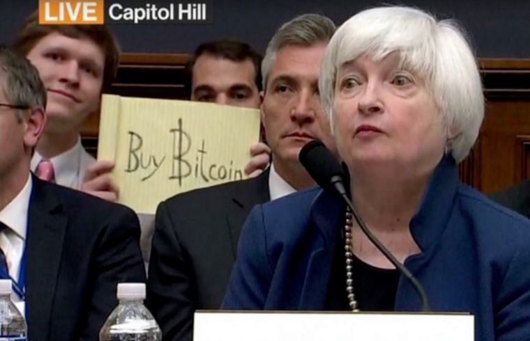 """Bitcoin Sign Guy""."