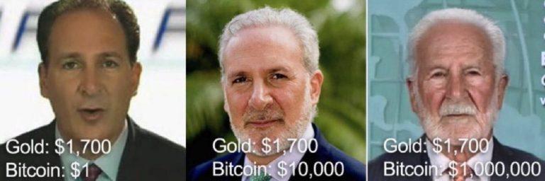 Dan Held responde Peter Schiff com meme