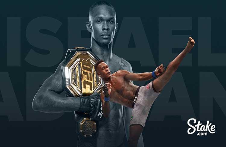 Campeão do UFC Israel Adesanya vira embaixador da Stake.com