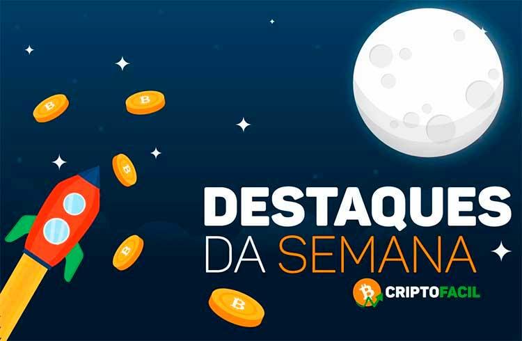 Semana das criptomoedas: 6 criptomoedas prontas para subir, Ethereum a R$ 50 mil e dicas de trader que multiplicou Bitcoins
