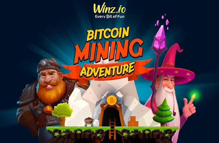 Winz.io lança Bitcoin Mining Adventure com um grande prêmio em BTC