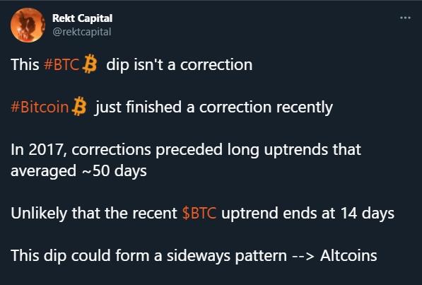 Rekt Capital fala sobre momento atual do mercado de criptomoedas