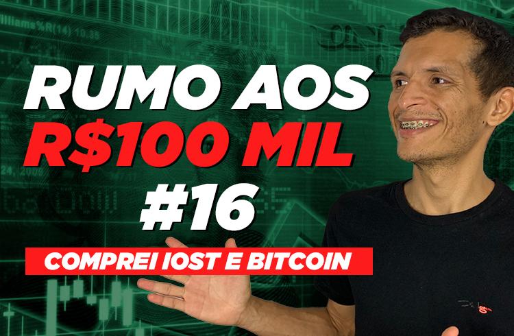 Comprei IOST e Bitcoin   Rumo aos 100 mil #16
