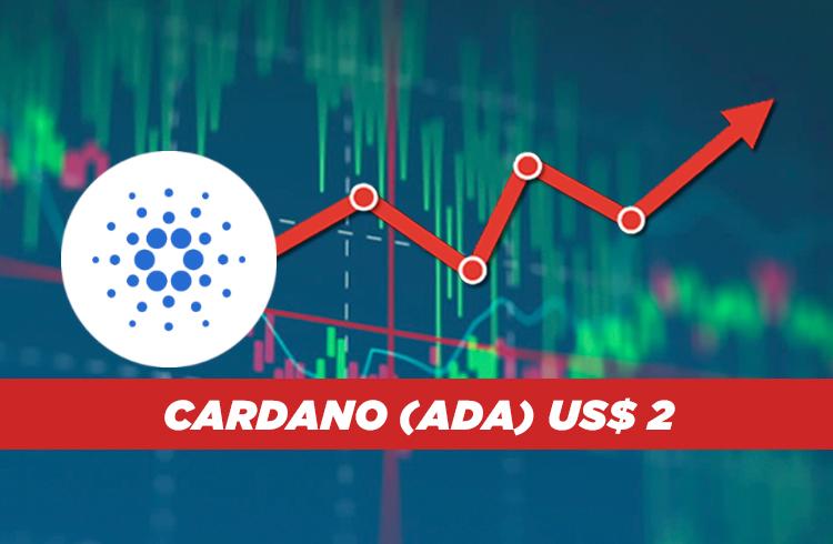 Análise Cardano: ADA sobe 25% em 24 horas e vai buscar os US$ 2