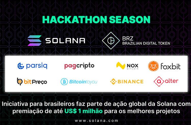 Solana vai pagar até US$ 1 milhão em hackathon global