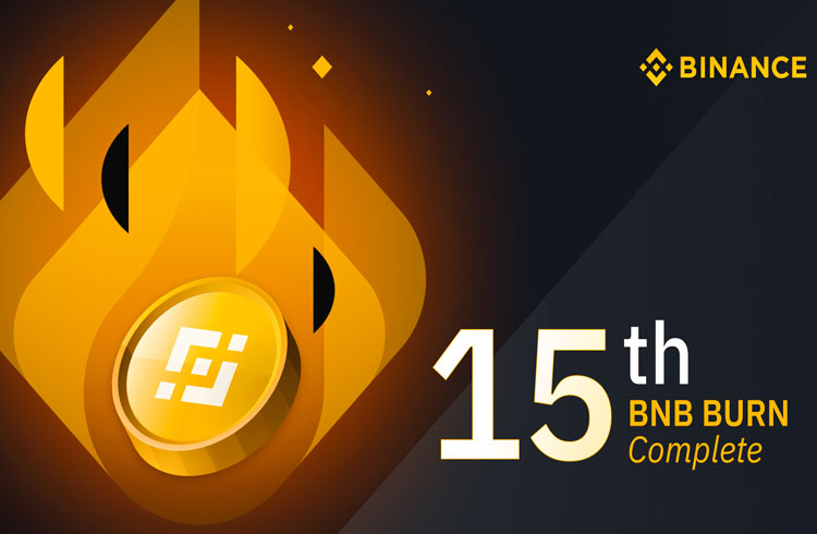 Binance faz queima recorde de BNB nesta sexta-feira
