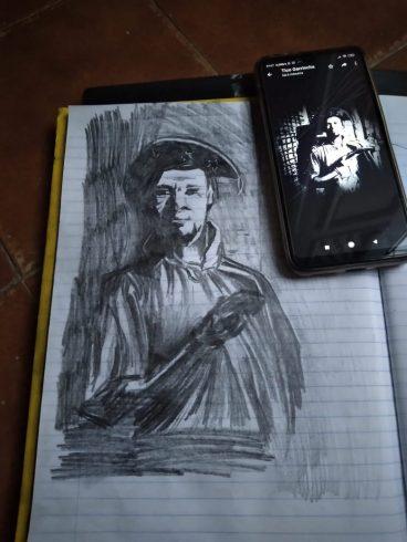 Desenho Tico Garrincha