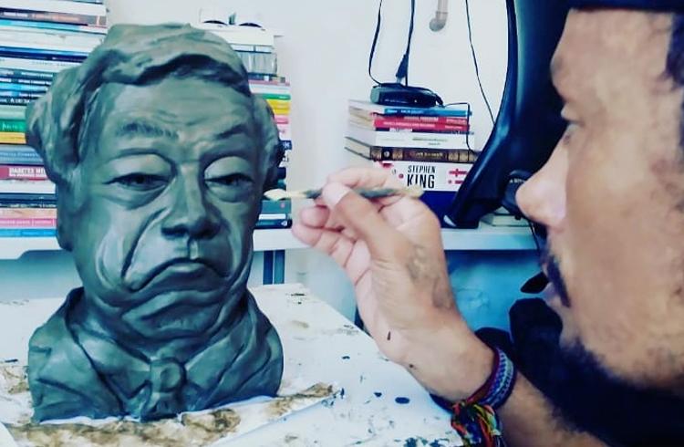Artista nordestino fica famoso fazendo artes envolvendo Bitcoin
