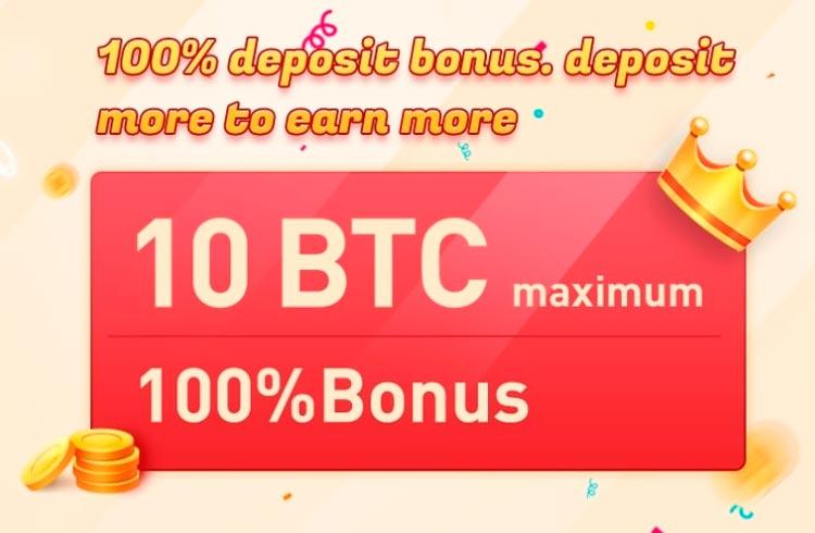 Bexplus fornece depósito duplo e 100x alavancagem para novos usuários