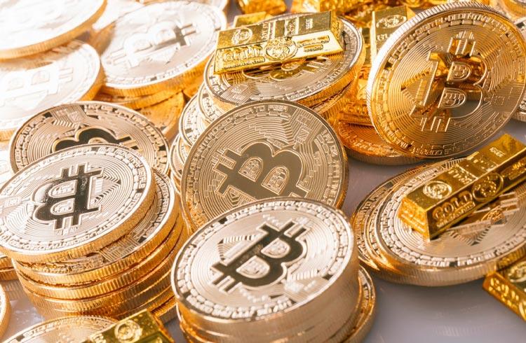 Investidores estão trocando Bitcoin por ouro, diz JPMorgan