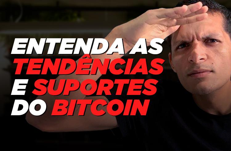 Como identificar os suportes e a tendência do Bitcoin?