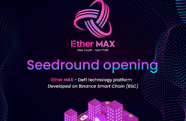 A plataforma DeFi EtherMAX foi lançada oficialmente
