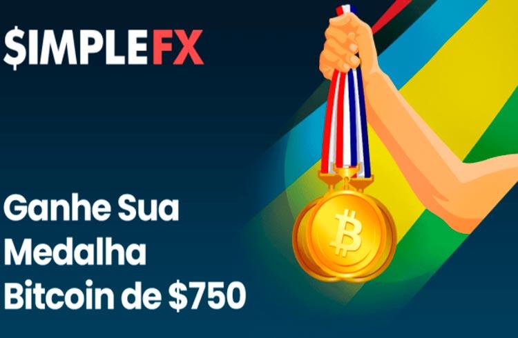 Ganhe US$750 Para Operar Com SimpleFX Durante os Jogos Olímpicos