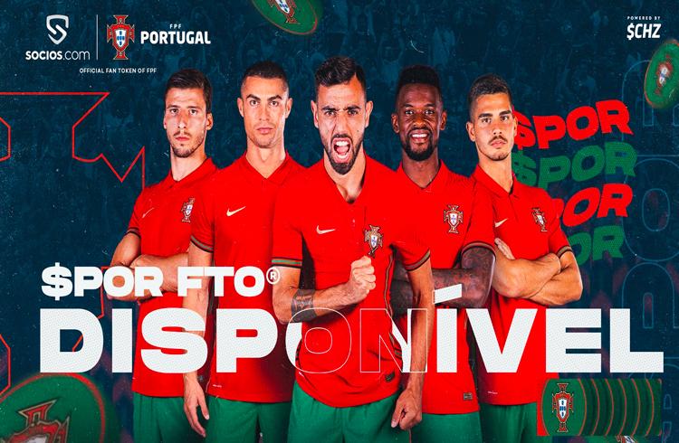 Portugal anuncia seu token em parceria com empresa do CHZ