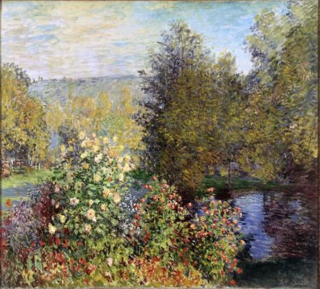 Claude Monet: Corner of the Garden at Montgeron (The State Hermitage)