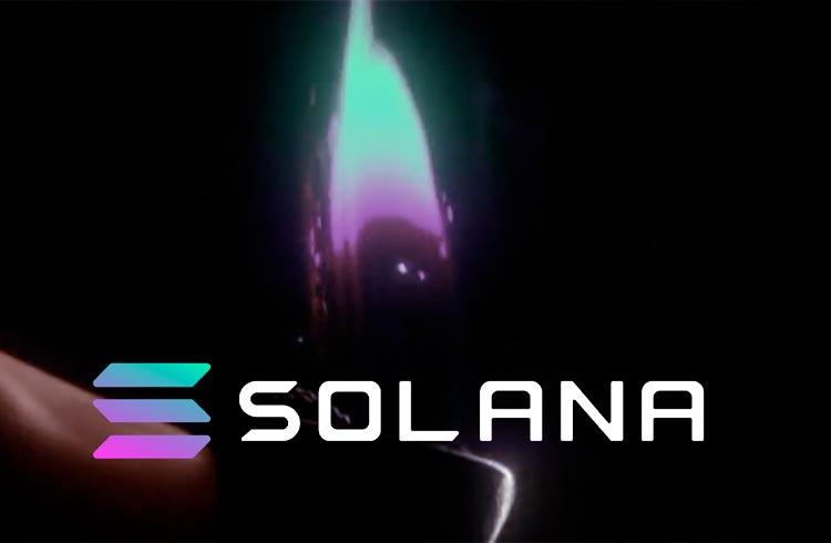 Entenda misterioso evento que fez a Solana atingir US$ 100 pela primeira vez