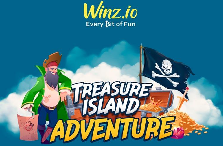 Jogadores do Treasure Island Adventure levarão para casa milhares de tesouros com a Winz.io